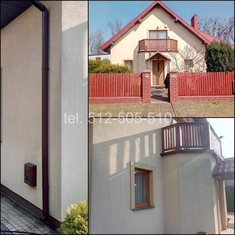 Mycie elewacji budynku Bydgoszcz