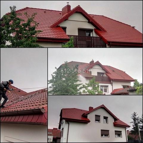 Czyszczenie dachówki w Jarocinie