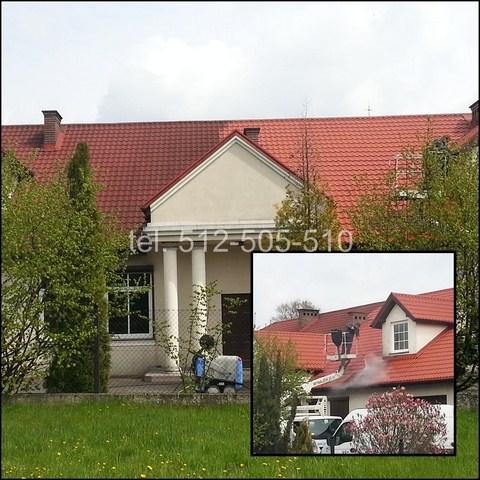 Mycie dachu w Warszawie