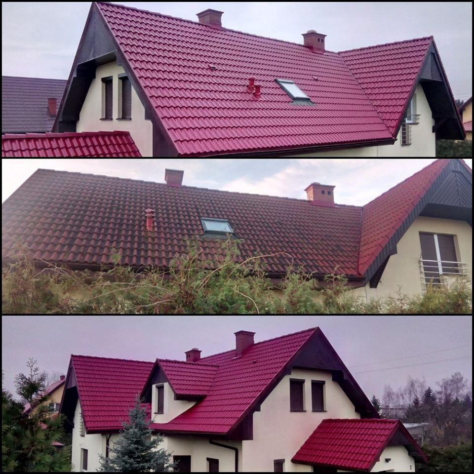 Mycie dachów Płock