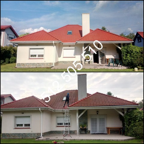 Czyszczenie dachów w Toruniu