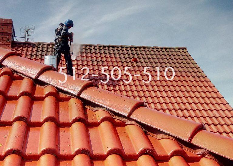 Płock czyszczenie dachówki