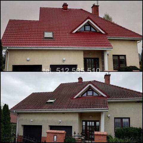Czyszczenie dachówki w Płocku