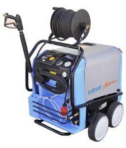 maszyna do mycia i czyszczenia powierzchni budowlanych takich jak: mycie dachów, mycie elewacji, mycie kostki brukowej