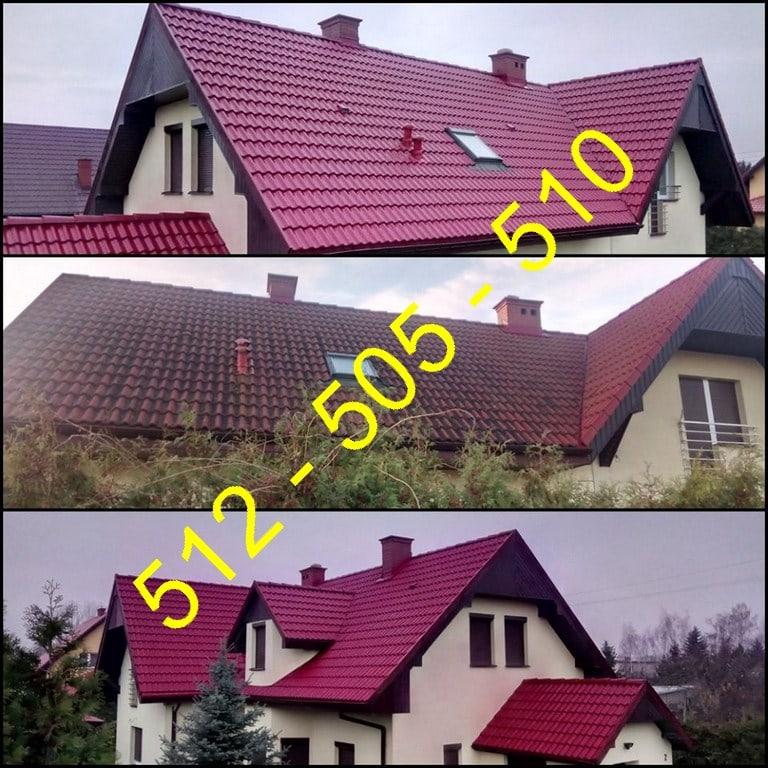 Mycie dachu w łódzkim / Łódź