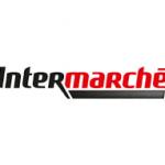 Intermarche - mycie elewacji budynku handlowego