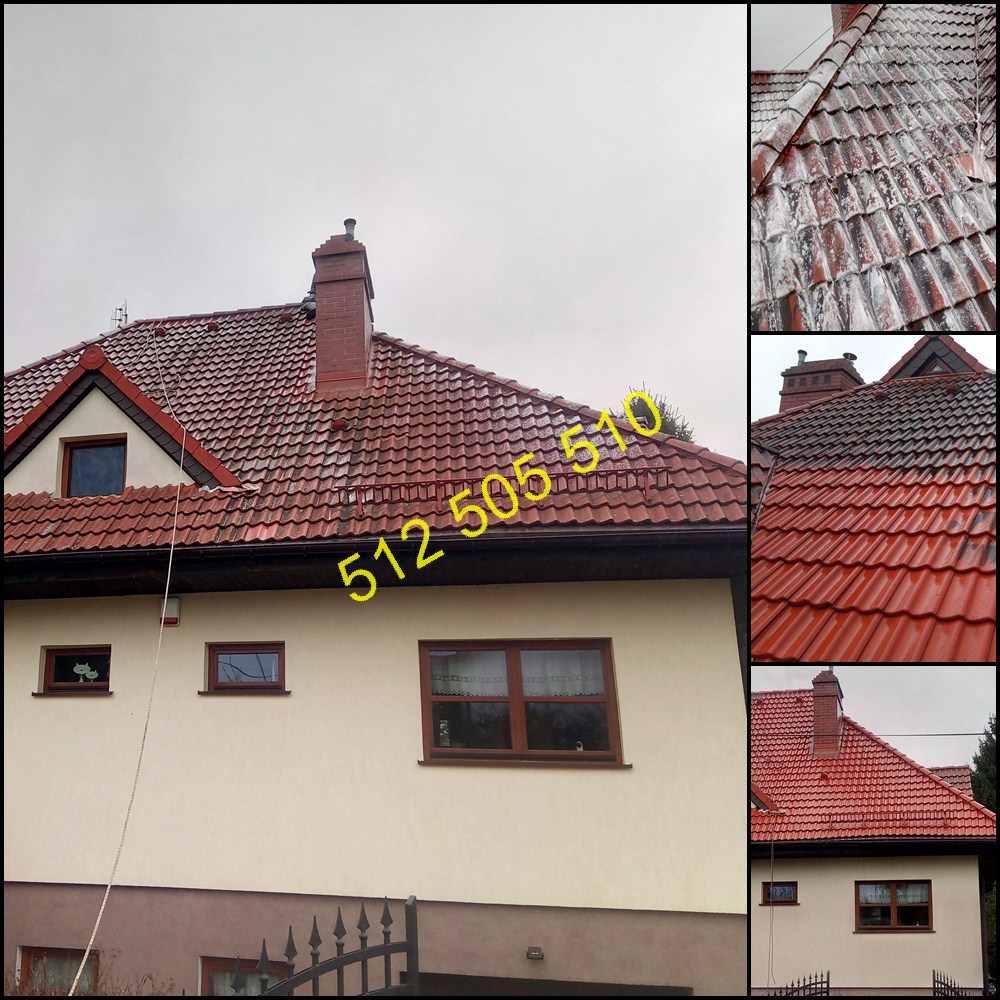 Czyszczenie dachówki w Olsztynie