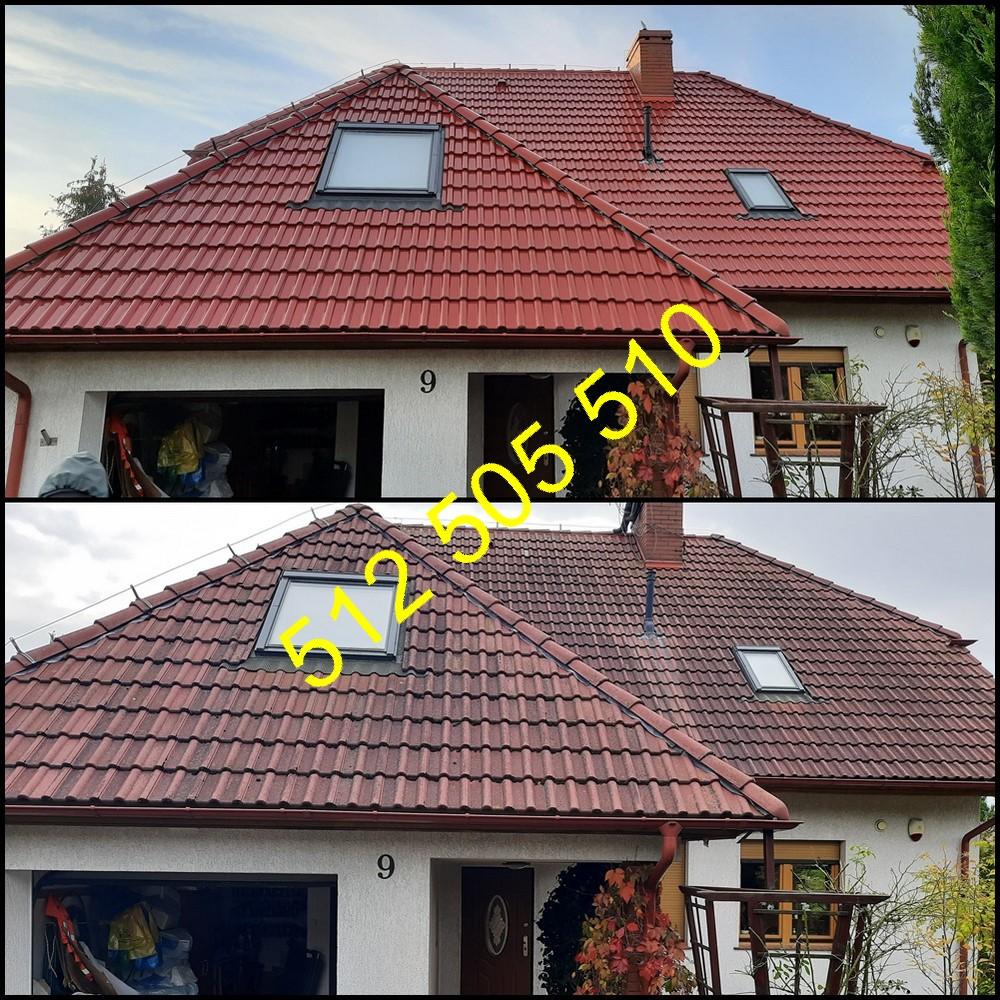 Czyszczenie dachówki Bydgoszcz