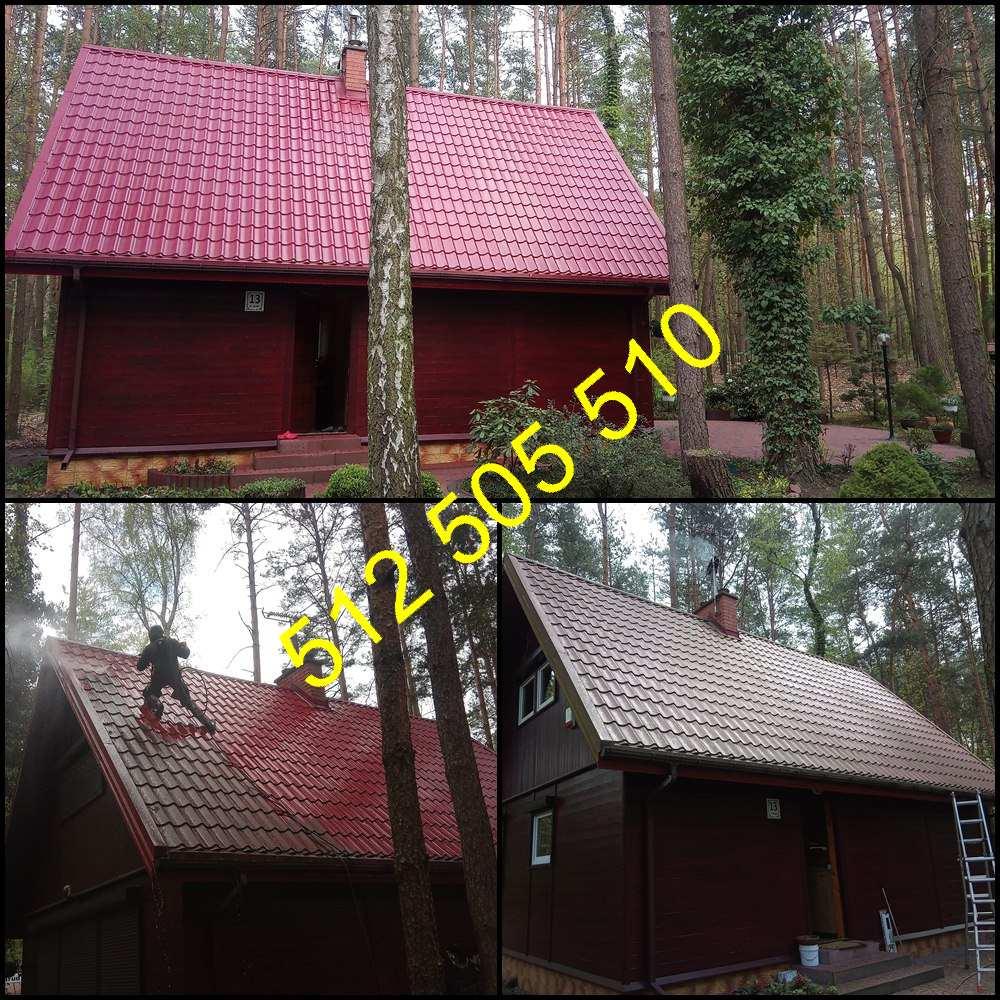 Mycie dachu z blachy w Gnieźnie