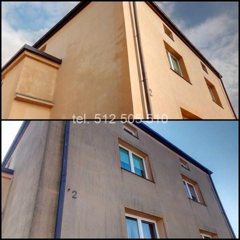 Mycie elewacji domu Sosnowiec